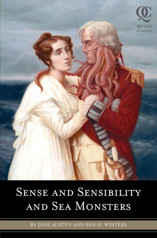 Book cover of Sense and Sensibility and Sea Monsters