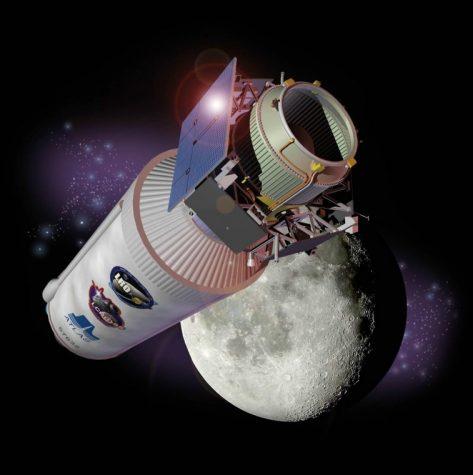 LCROSS spacecraft with Centaur Stage