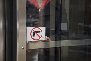 College complies with Illinois Firearm Concealed Carry Act