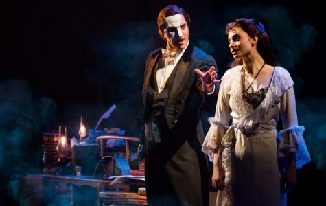 (left) Cooper Grodin and (right) Julia Udine of Phantom of the Opera.