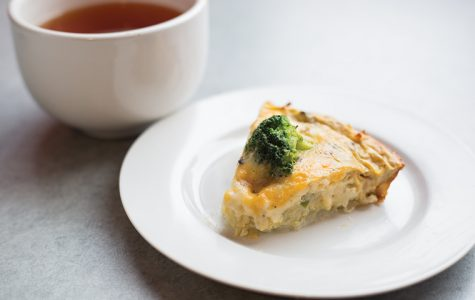 Potato-crust quiche