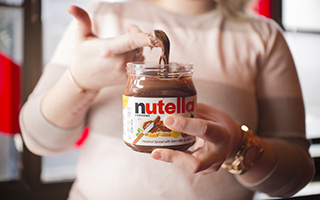 Nutella, originally from Italy, is a connecting centerpiece for Multilingual Connection's Italian lessons.