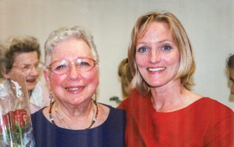 Jane Ann Ganet-Sigel (left), founder of Columbia's Dance/Movement Therapy & Counseling Department, now known as the Creative Arts Therapies Department, died Jan. 27 after a long battle with Parkinson's disease. Susan Imus (right) is now the department chair.