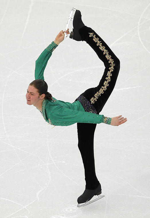 Jason Brown skates for gold at this years Olympics in Sochi