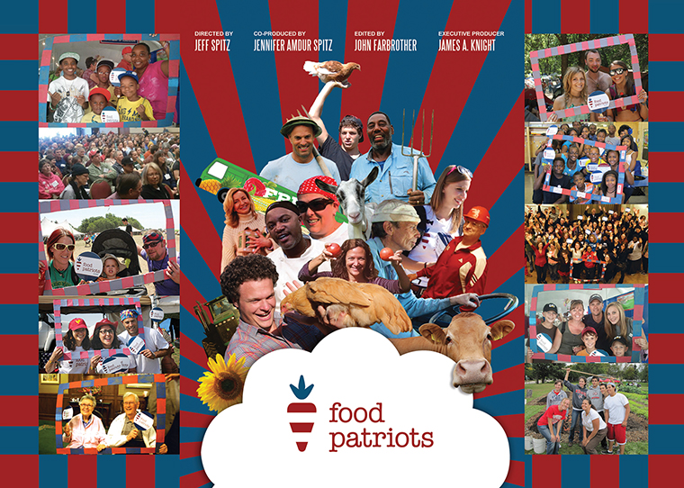 """Jeff Spitz, assistant professor in the Cinema Art + Science Department, co-produced the documentary """"Food Patriots"""" about the importance of growing and eating local, organic food."""