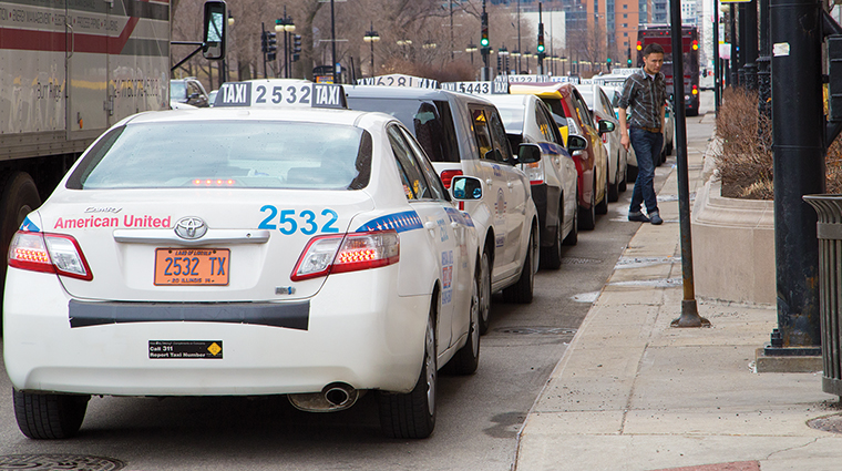 Chicago cab drivers pay a maximum of $700 a week to lease a taxi from a cab company. A Chicago cab driver filed a lawsuit in 2012 demanding the city lower lease rates because it prevents drivers from making a livable wage.