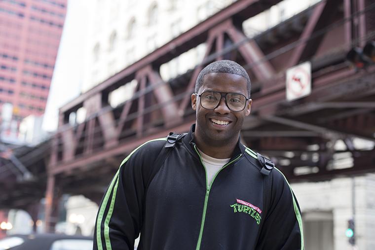 Electronic hip-hop artist Jason