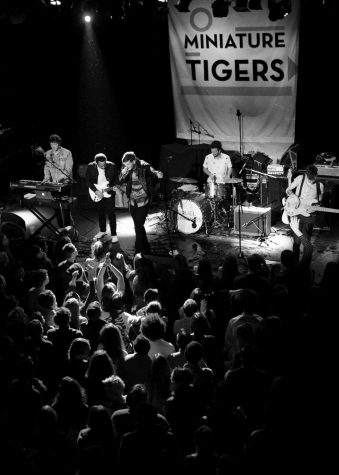 Miniature Tigers play in New York City Feb. 14 (above) to promote their new record, Cruel Runnings, scheduled for release May 27.