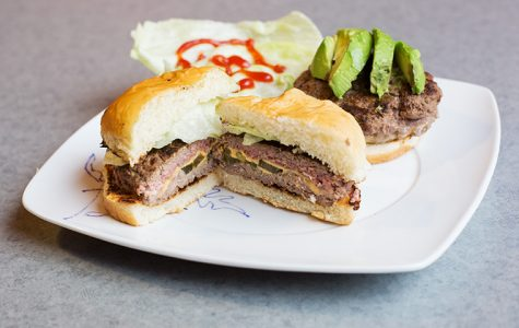 Jalapeño-stuffed cheeseburgers