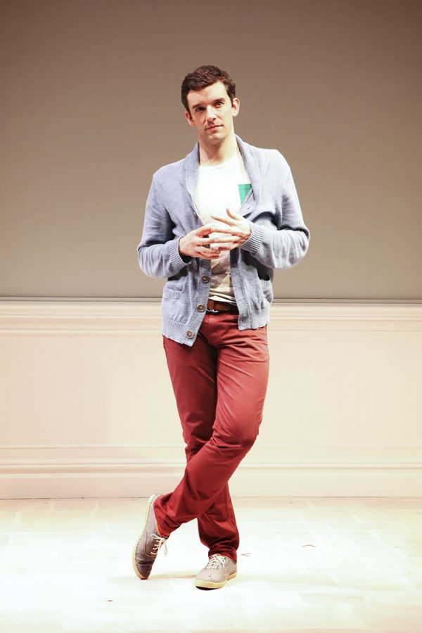 Michael+Urie+performs+in+%E2%80%9CBuyer+%26amp%3B+Cellar%2C%E2%80%9D+the+one-man+comedy+written+by+playwright+Jonathan+Tolins.