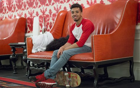 Marques Jones, a senior cinema art + science major, has launched his rap career by the stage name Nick Astro. He will perform as one of eight student headliners at Manifest on May 16 and is currently working on his second independent project, an EP titled Light Skin With That Afro, which will drop this summer.