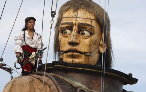Royal de Luxe, a French street theater company, is in talks to bring its unique puppet performance to Chicago in 2016. Its puppets include a giant sea diver, pictured above, and a huge female child.