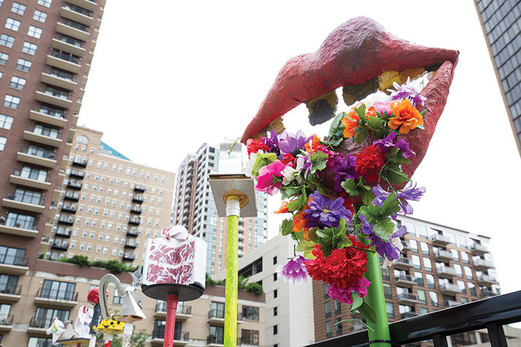 In an effort to increase the amount of student art showcased on campus and throughout the South Loop, Columbia is displaying student work in the Papermaker's Garden, 754 S. Wabash Ave., which is home to various student-produced papier mâché designs, sculptures, paintings and live performances.