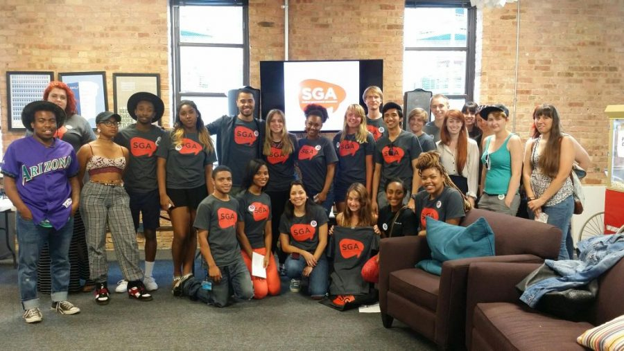 The Student Government Association held a meet-and-greet for students at 916 S. Wabash Ave.