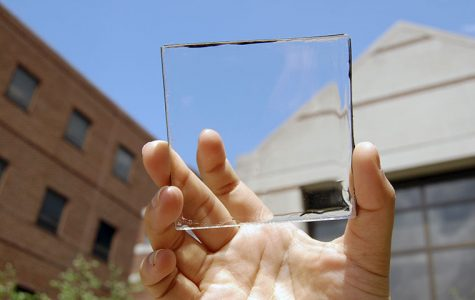 Transparent Solar Concentrator Prototype