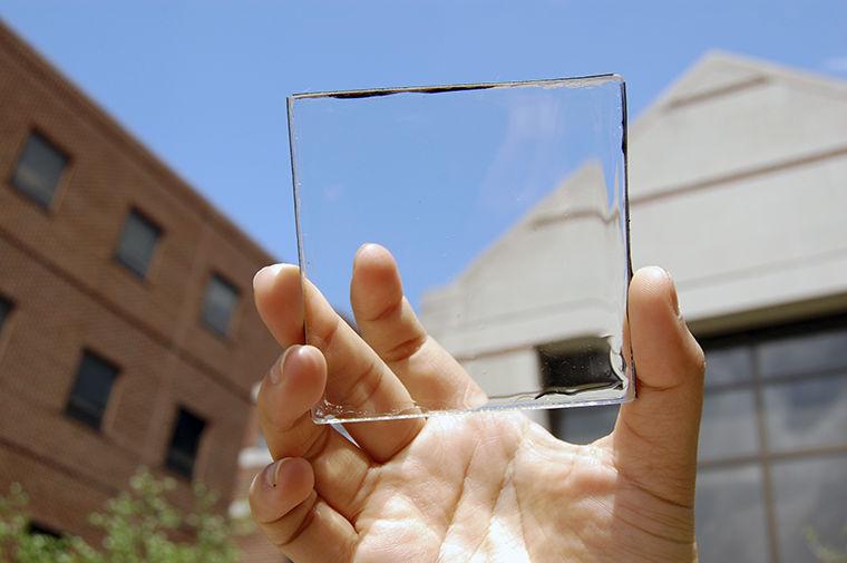 Transparent Solar Concentrator Prototype