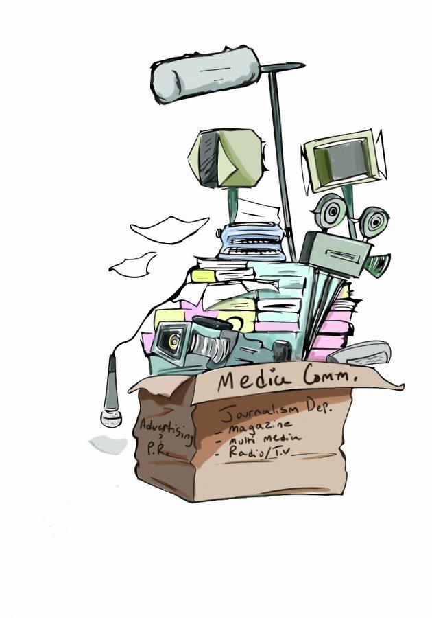 School of Media Arts Department Merge