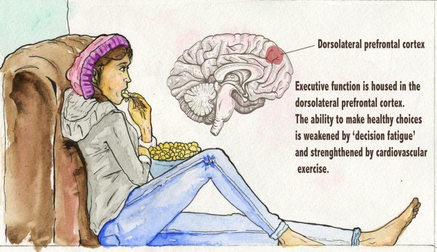 Decision fatigue fuels calorie cravings