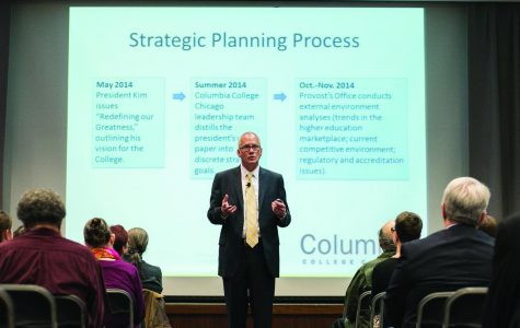 Provost Stan Wearden discusses strategic plan