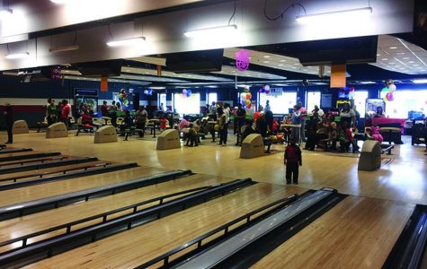 South Side skating and bowling rink celebrates Breast Cancer Awareness Month