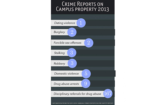 Crime reports reveal increase in theft