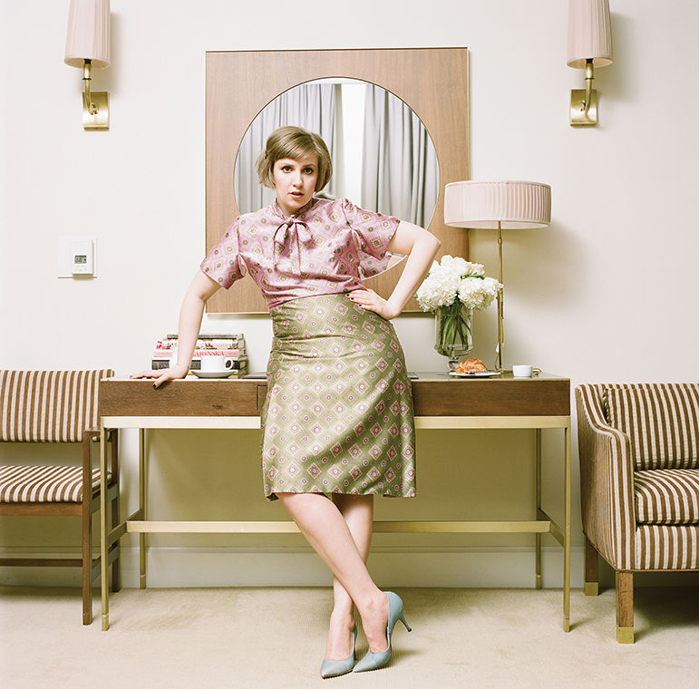 Actress Lena Dunham is one of many creative industry professionals who was chosen speak at the Chicago Humanities Festival.