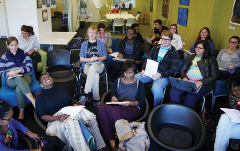 An information session was held Oct. 1 on the third floor of the library, 624 S. Michigan Ave., where students received applications to apply to be part of the student board.