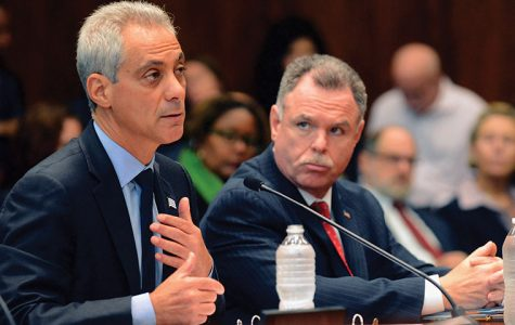 Mayor Emanuel announced new legislation in effort to reform sentencing laws for low-level drug offenses in Chicago at a press conference on Sept. 24.