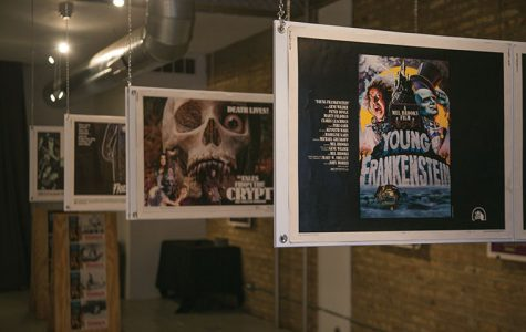 Uncovered posters inspire spooky art show