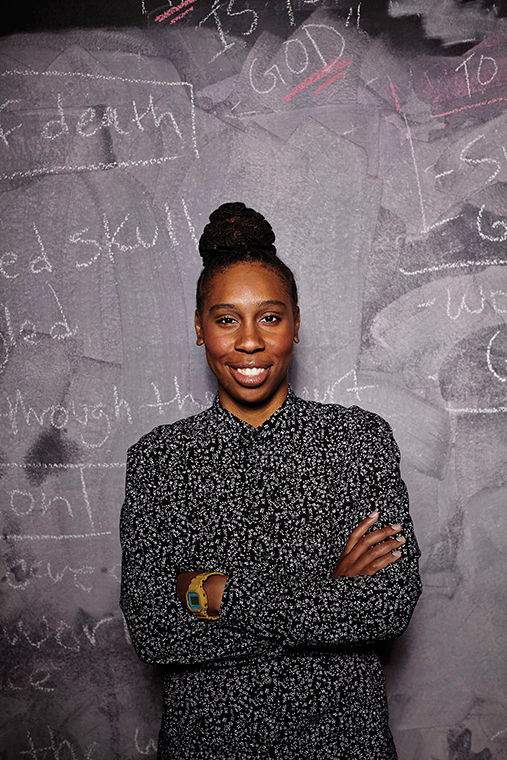 Lena Waithe returns to Columbia to offer aspiring film students advice about how the industry works.