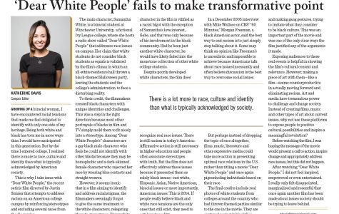 'Dear White People' fails to make transformative point