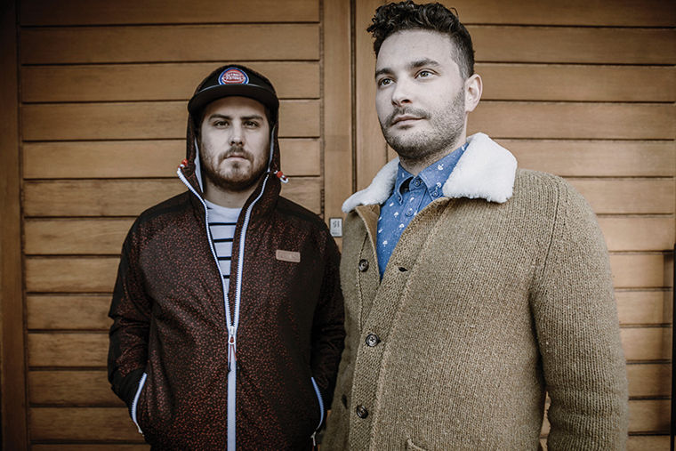 Daniel Zott and Josh Epstein make up half of Dale Earnhardt Jr. Jr., a band quickly making a name for itself as one of indie music's rising acts, thanks to its catchy songs.