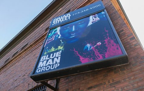 Briar Street Theatre, 3133 N. Halsted St., is home to Chicago's branch of the popular Blue Man Group production.