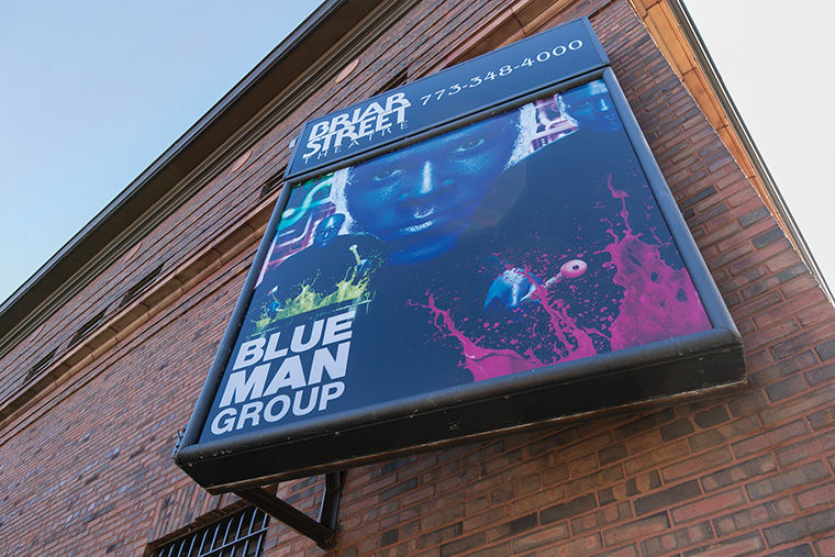 Briar+Street+Theatre%2C+3133+N.+Halsted+St.%2C+is+home+to+Chicago%E2%80%99s+branch+of+the+popular+Blue+Man+Group+production.