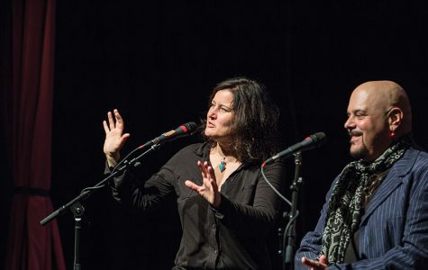Singer/songwriter Paula Cole discussed industry experiences and offered advice to music students Oct. 27 at the Music Center, 1014 S. Michigan Ave.