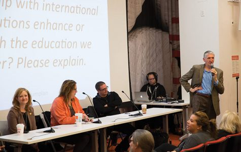 Students, faculty and administrators contributed opinions on Nov. 5 at Ferguson Auditorium in the 600 S. Michigan Ave. Building at the first of six roundtable discussions.