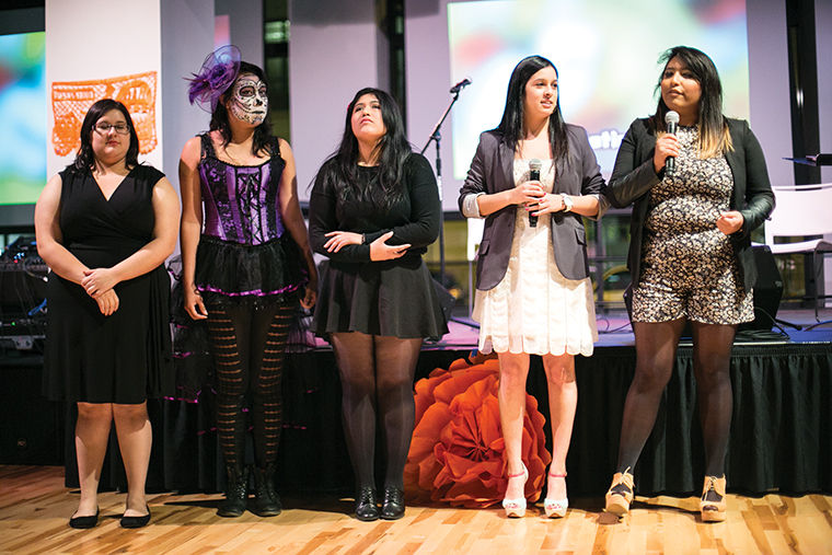 The Latino Alliance held the annual Day of the Dead celebration event Nov. 7 at the Conaway Center in the 1104 S. Wabash Ave. Building.