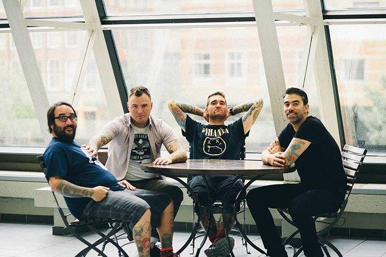 California-based pop-punk band New Found Glory has made its mark on its fans, over a 17-year career, culminating in the Oct. 7 release of its eighth studio album Resurrection.