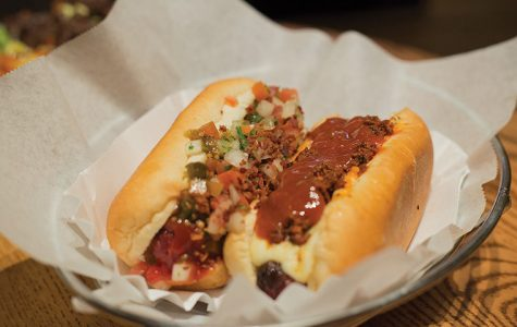 Mercadito has a varied menu including the tasty steak nachos or the satisfying Mexican and Fundido hot dogs.