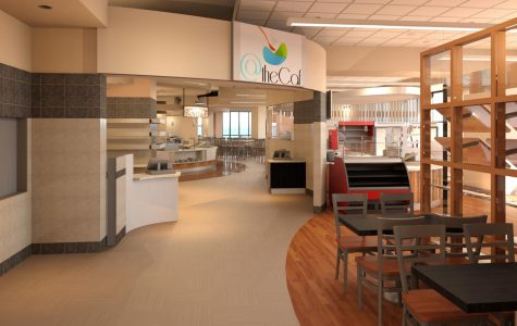 The UC's cafeteria is being completely remodeled in order to reflect the building's new food service company.