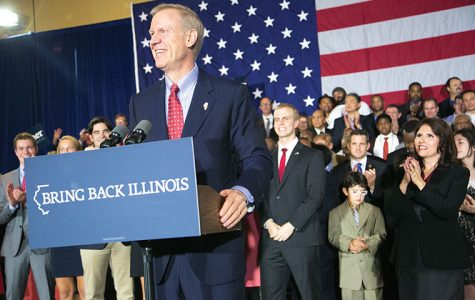 Governor-elect Bruce Rauner spoke on the night of Nov. 4 after a decisive victory over incumbent Gov. Pat Quinn.