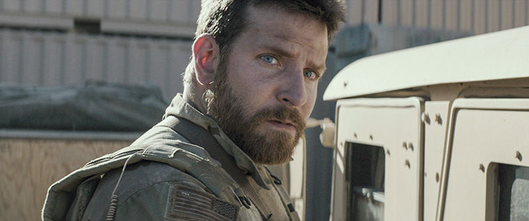 "Clint Eastwood's controversial new film ""American Sniper"" stars Bradly Cooper as sharpshooting Navy SEAL sniper Chris Kyle. The film has been nominated for a total of six 2015 Academy Awards, including ""Best Picture,"" ""Best Original Screenplay"" and ""Best Actor,"" Cooper's third nomination."
