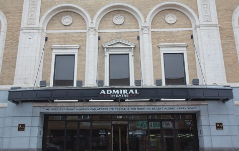 """The Admiral Theatre, 3940 W. Lawrence Ave., won the """"Block Star Business Award,"""" which highlights businesses that encourage positivity, tidiness and cleanliness around the Albany Park neighborhood."""