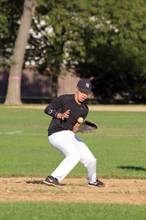 Renegades shortstop Victor Gonzalez makes a catch. The team will begin the Spring 2015 season in April.