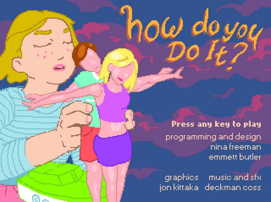 """How Do You Do it?"" is a video game about a girl learning about sex with her dolls while her mom is out of the house, she tries to not get caught by mom when she returns."