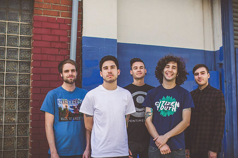 """With its DIY attitude and nostalgic lyrics, Tinley Park-based quintet Real Friends straddles the line between the emo and pop-punk genres. The band's new documentary, """"Moving Forward,"""" premiered Feb. 19 in Orland Park and discusses its latest album, its growth, touring and what it is like to be in a band."""