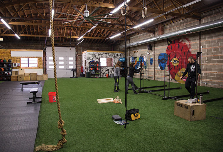 Columbia has partnered with South Loop Strength & Conditioning to offer CrossFit, a hybrid exercise program.