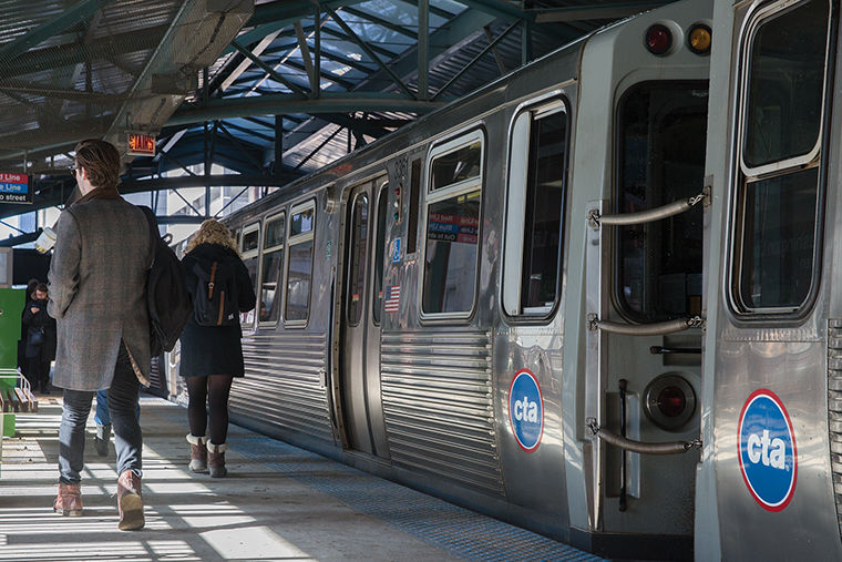 Major wireless providers T-Mobile, AT&T, Verizon and Sprint will soon provide 4G wireless coverage to Red and Blue Line stations as part of a $32.5 million deal.