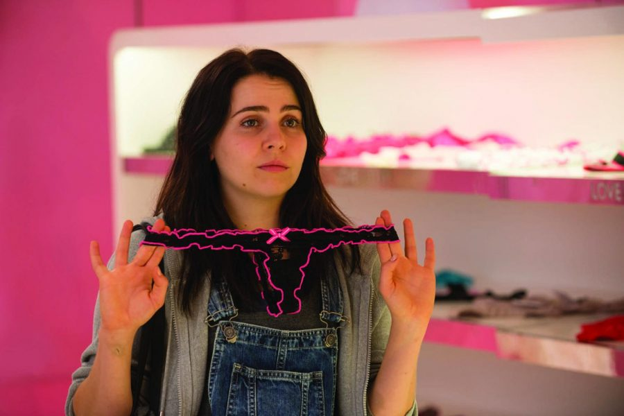 """Mae Whitman plays the lead role in """"The DUFF,"""" set to premiere Feb. 20, as a high school senior who battles high school stereotypes and labels."""