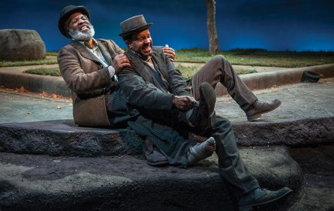 Allen Gilmore and Alfred H. Wilson play Vladimir and Estragon in Ron OJ Parson's rendition of Samuel Beckett's